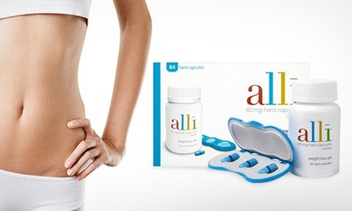 Alli (Orlistat 60mg 84 Tablets)